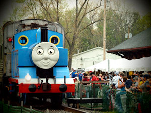 A Day Out with Thomas at Medina Railroad Museum