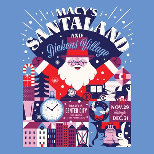 Macy S Santaland And Dickens Village Kids Out And About Philadelphia